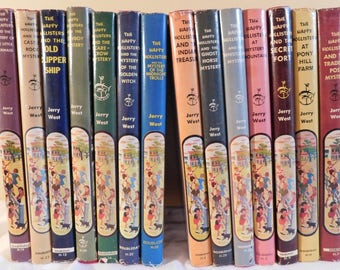 Reserved for Katheryn The Happy Hollisters Series by Jerry West Illustrated Vintage Story Books  1950s Children's Books  Mystery