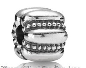 CRAZY CLIPS Bead Charm Set (2) European Big Hole / European / Pandora / Fits Pandora/ European Bracelet