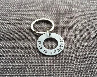 Portkey keychain• this is a portkey• Harry Potter  keychain