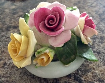 Aaderi Floral Fine Bone China