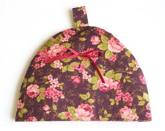 Floral Tea Cozie (Cosy) Handmade