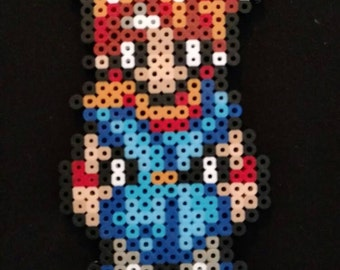 Chrono trigger CHRONO perler pixel art