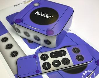 Nintendo GameCube inspired Apple TV Decal / Skin