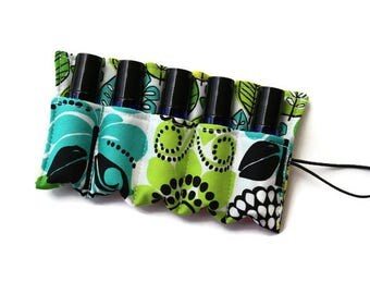 Essential Oil Case~Doterra~Young Living~Essential Oil Holder~Essential Oil Bag~Essential Oil Insert~Rollerball