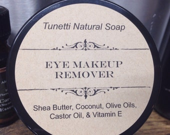 Natural Organic Eyelash Conditioner and Eye Makeup Remover, Cold Cream