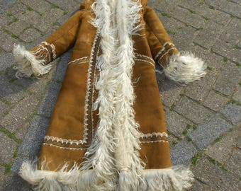 Vintage Afghan  long Coat