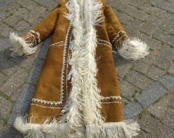 Vintage Afghan  long Coat