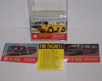 Fire Engines Series II Card Set (100)