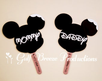 Personalized Mickey Bar Disney Cruise Stateroom Door Magnets