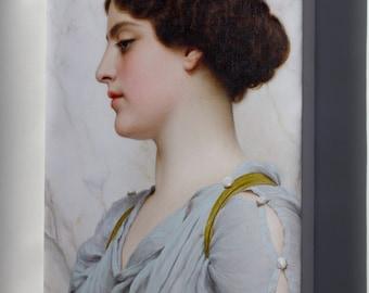 Canvas 24x36; Godward A Roman Beauty 1912