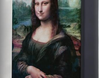 Canvas 24x36; Mona Lisa Restored
