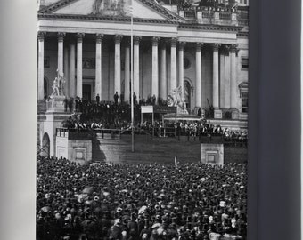 Canvas 24x36; Abraham Lincoln Inauguration 1861
