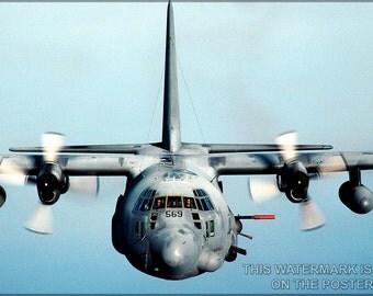 16x24 Poster; Ac-130 Spectre Gunship