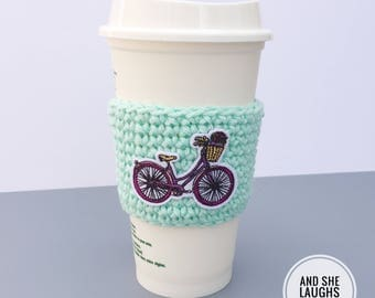 Bicycle Cup Cozy