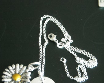 NEW ~ I love you a latte ~  Silver Necklace