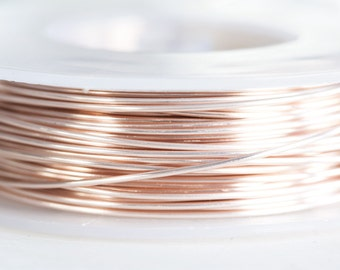 Rose gold wire | Etsy