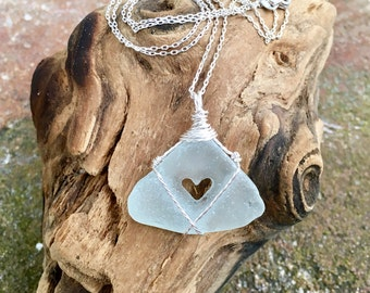 Made With Love Sea Glass Necklace