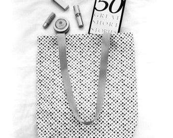 Littlest Treasures • Handcrafted Tote Bag • Natural Cotton Fabric • Daily Essentials • ATELIER Totes