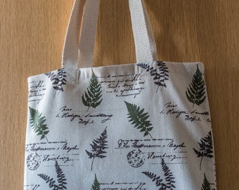 Fern Print Canvas Bag