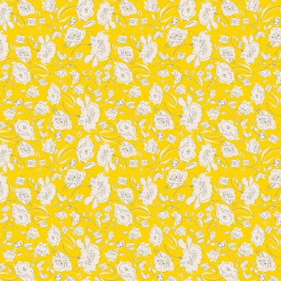 Crib Skirt >> Wonderful Things Blooming in Yellow > MADE-to-ORDER yellow crib skirt, floral crib skirt, yellow flower bedding, baby bedding