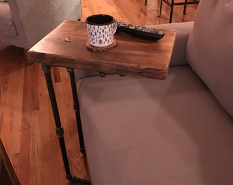 "Reclaimed wood ""C"" table 