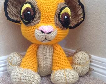 Crocheted Baby Lion / Amigurumi Lion