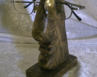 Spectacles / Reading Glasses Holder reclaimed pallet wood Free UK Delivery