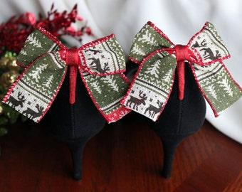 Adorable Season Sweater Print Boot Clip