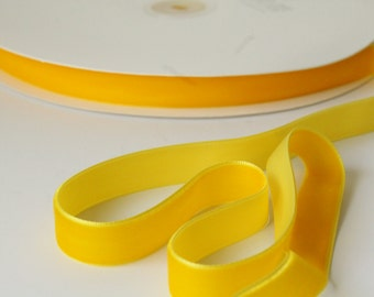 Yellow velvet | Etsy