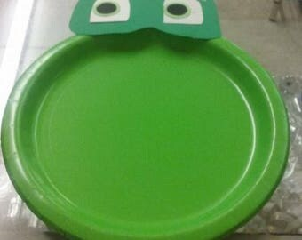 Pj masks paper plates
