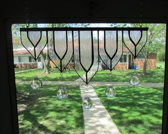 Stained Glass Valance