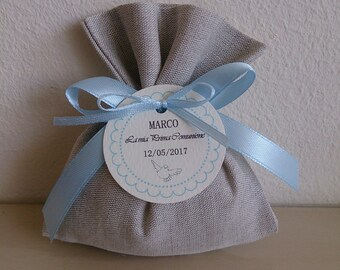 Set of 20 Bags Pearl Grey-wedding favors