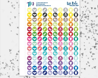 Life Dots Welcome Baby [037]