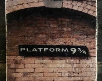 Harry Potter Platform 9 3/4 Coaster or Decor Accent