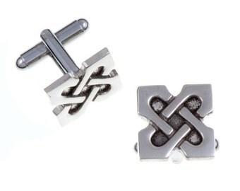 10th Anniversary X T-bar cufflinks- Hand Made and Design in UK