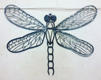Dragonfly wall art sculpture