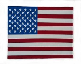 U.S.A. (United States of America Canvas Flag