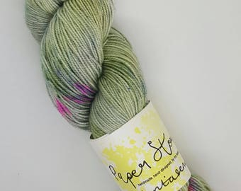 Veritaserum, Harry Potter Inspired High Twist Sock Yarn