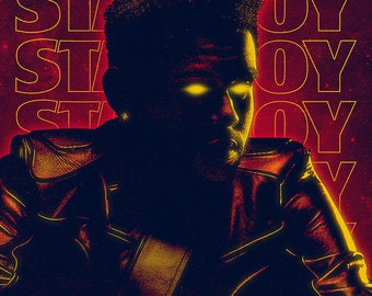Starboy - Limited Edition Art Print