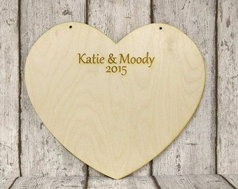 Heart guestbook,large wooden heart,personalised guestbook,guestbook alternative,large guest heart,wooden heart,book of hearts,mr&mr guestboo