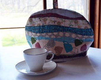Quilted Tea Cosy - Tea Cozy - Fabric Tea Cosy - Tea Cosy - Fabric Tea Cozy - Quilted Tea Cozy - Tea Pot Cover - Tea Accessories - Tea Cozy
