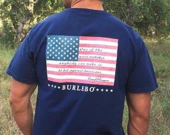 Reagan Flag SS Burlebo Shirt