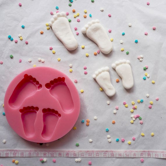 Baby Feet Silicone Mould Mold cake decorating cakes