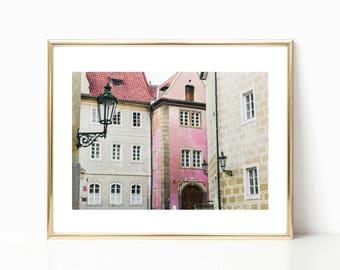 Travel Prints, Prague Castle, Europe Print, Fine Art Photography, European Art, Architecture, Gallery Wall Prints