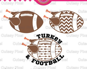 thanksgiving svg, Turkey svg,football svg, cutting file, Cricut Design Space, Silhouette Studio,Digital Cut Files