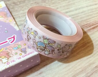Little Twin Stars Wrapping Tape from Japan