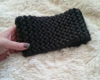 Simplicity Headwrap, Dark Grey Heather