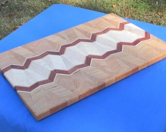 Handcrafted Cutting Board Lamination