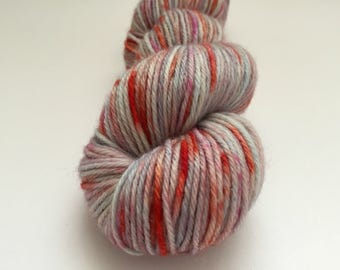 Cherry Blossom - Hand Dyed Yarn - 100% Worsted Weight Wool