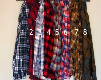 Soft Vintage Oversized Flannels